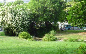 La place Gambetta - Parc - Bordeaux