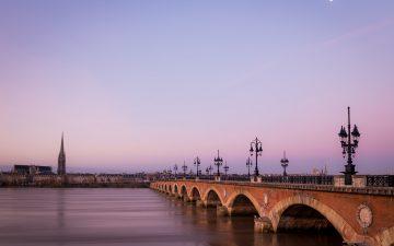 Pont de pierre, le plus vieux pont de Bordeaux