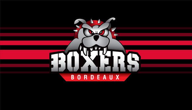 Image d'un Boxer, emblème de l'équipe de hockey de Bordeaux, les Boxers