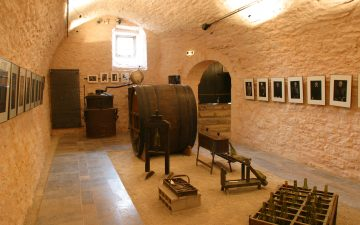 Intérieur du musée du Vin et de la Négoce- Bordeaux