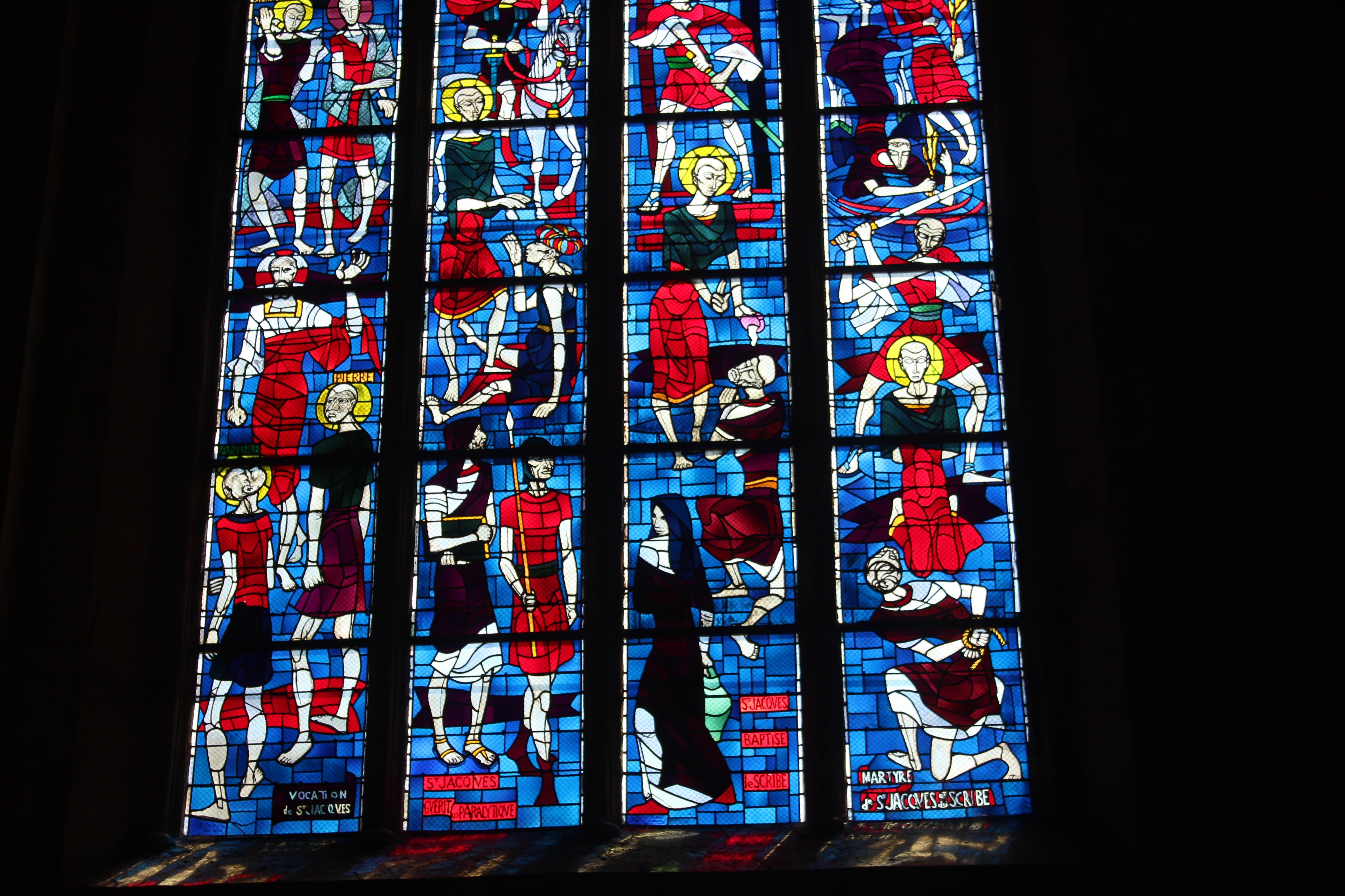 vitrail basilique saint michel