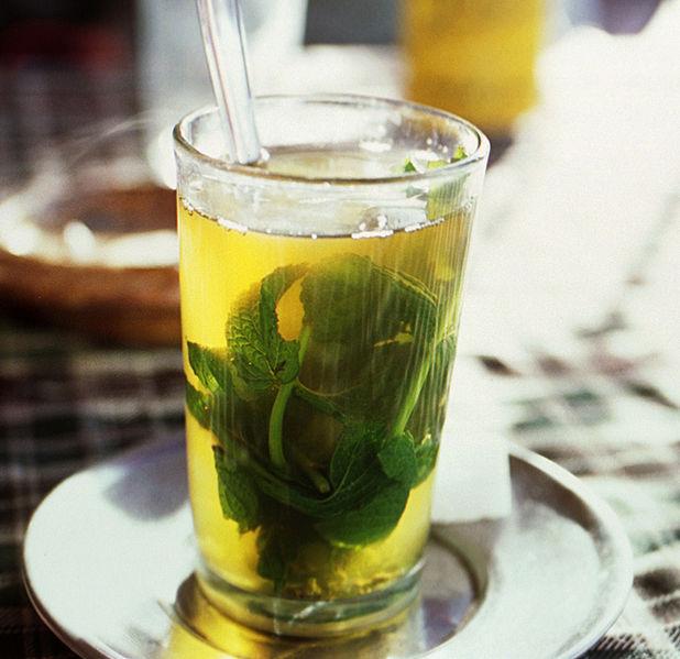 thé à la menthe saint michel